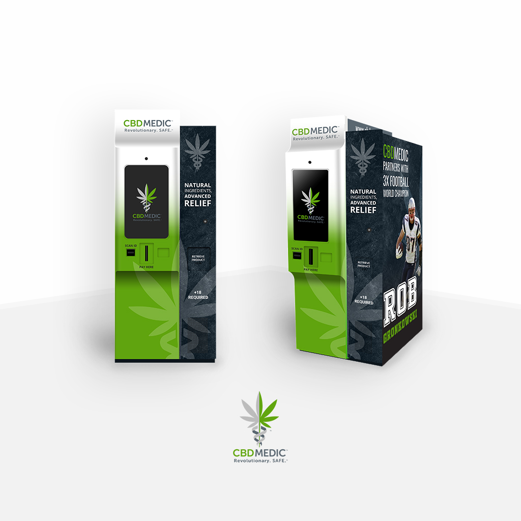CBD-MEDIC Vending Machine 21