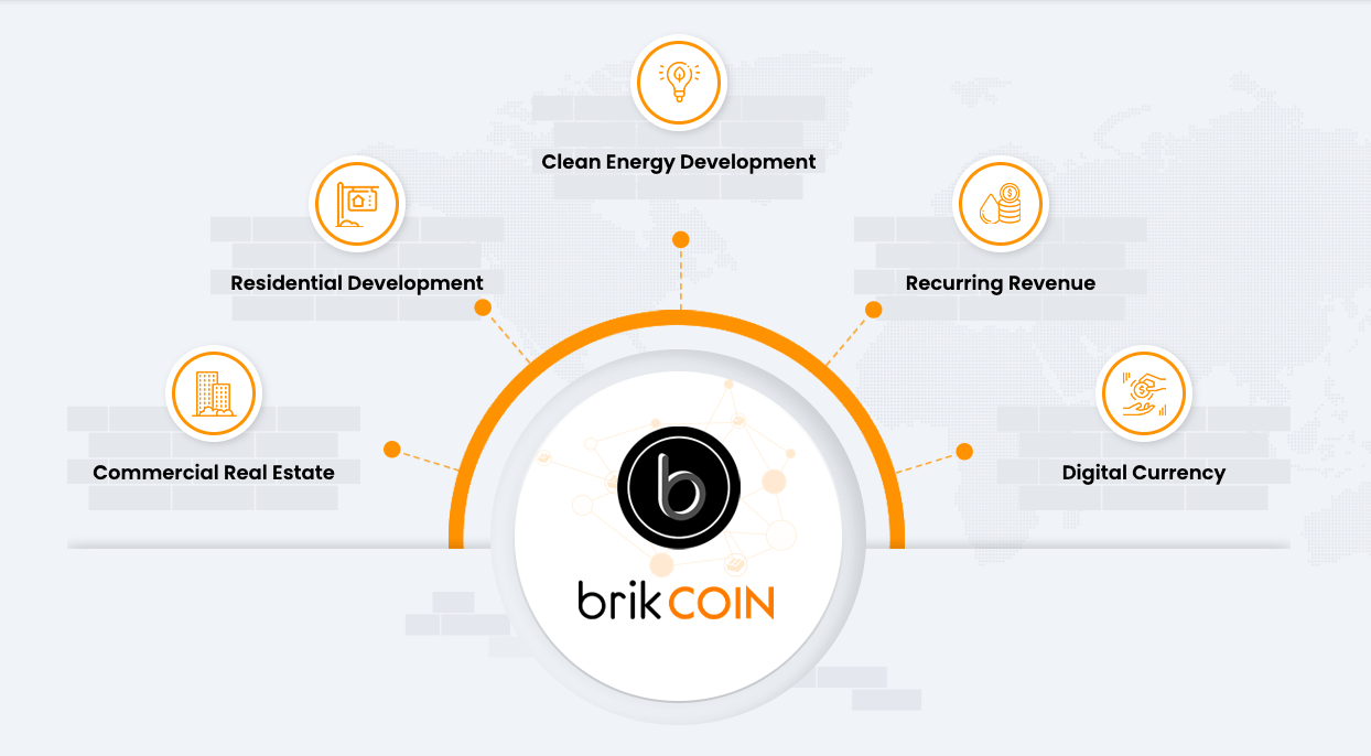 Blockchain in real estate - brikCOIN example