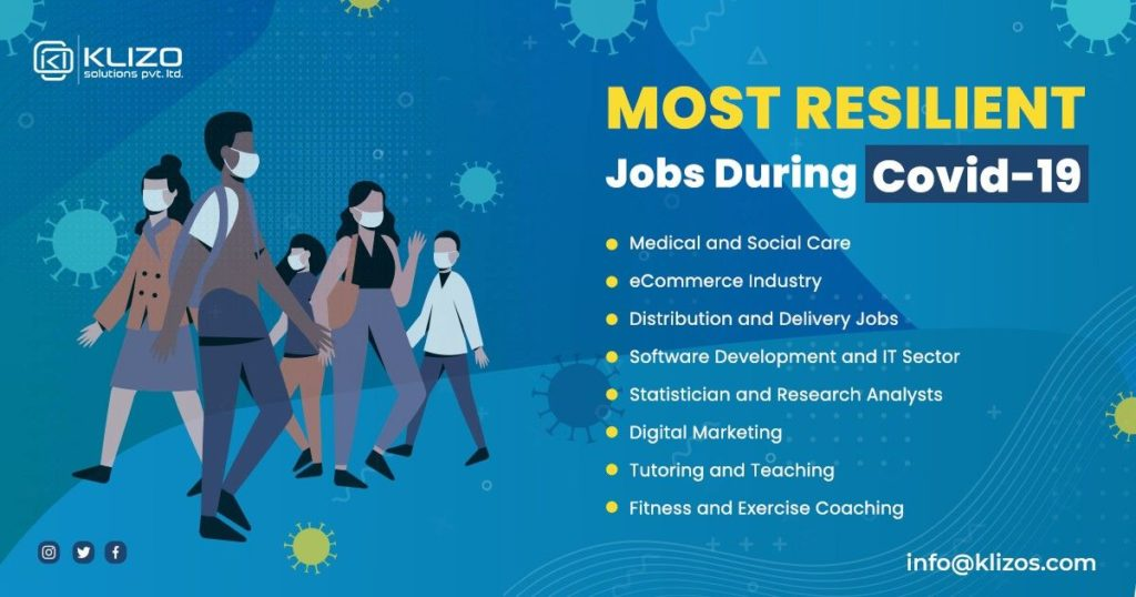 Most resilient and secure jobs during COVID-19