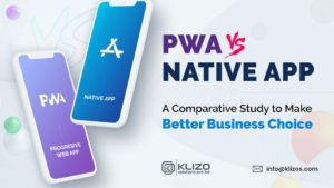 PWA vs native app - a comparative guide banner