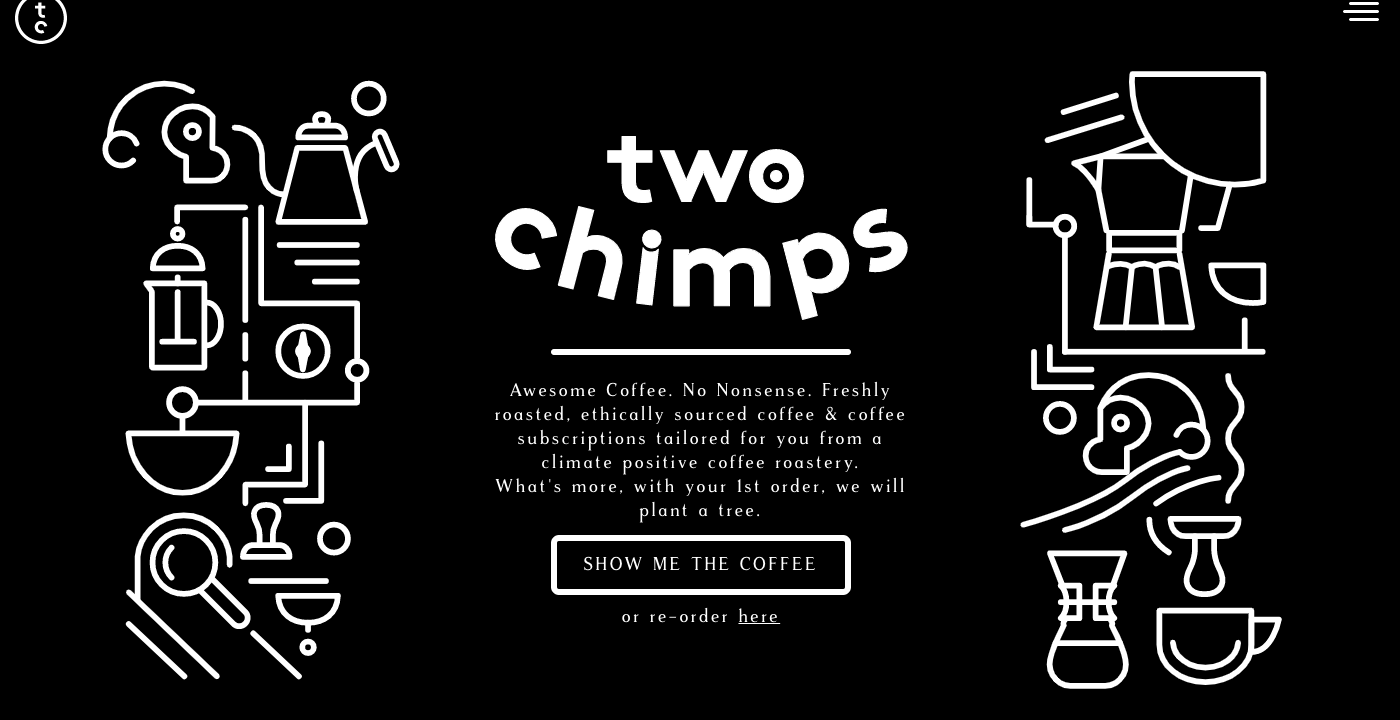 Tips to design better CTA button - two chimps example