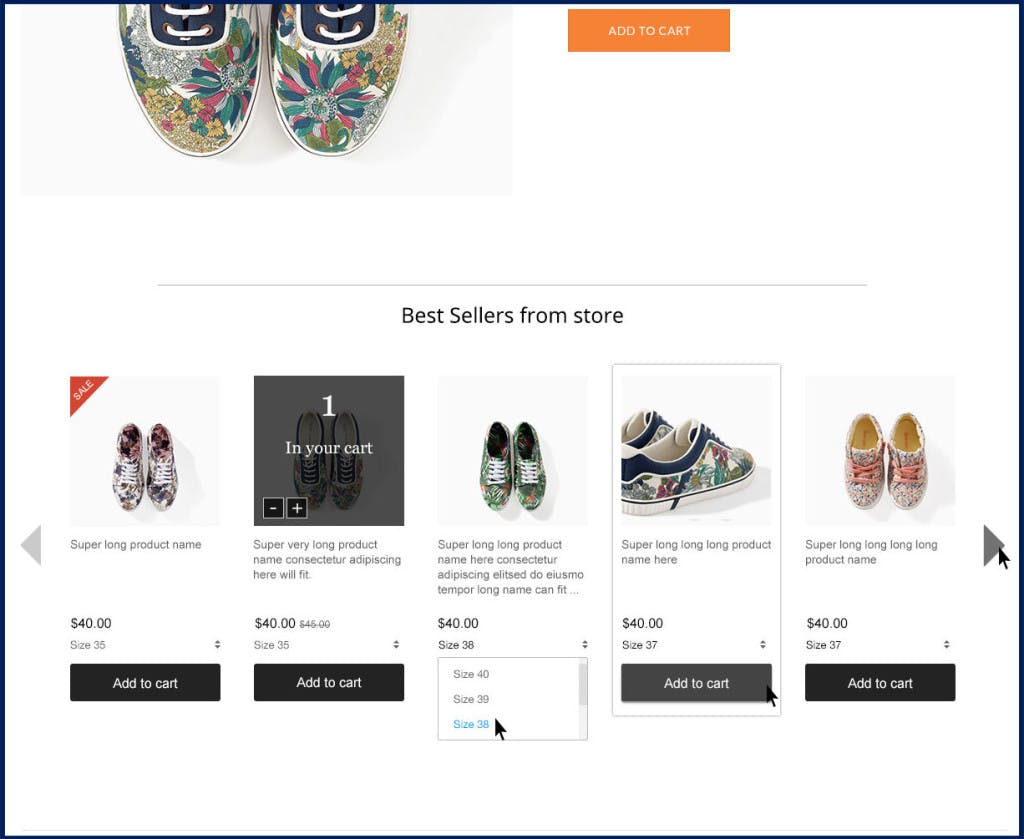 artificial intelligence in eCommerce - PersonalizedRecommendationexample1024x839