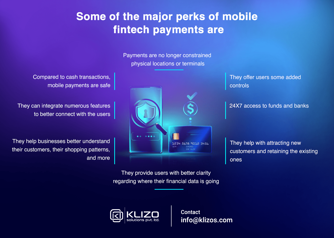 benefits of mobile payment in fintech industry - Klizo